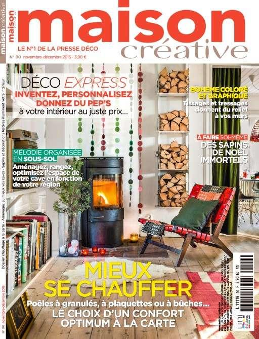 Maison Créative 90 - Novembre-Decembre 2015