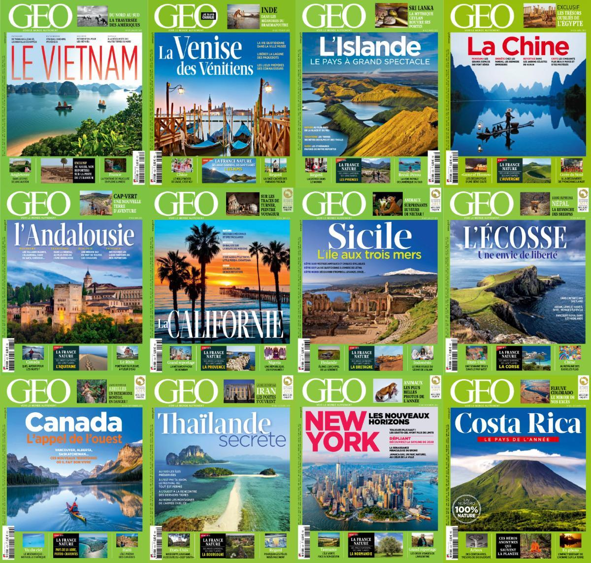 Geo France - Full Year 2015 Collection