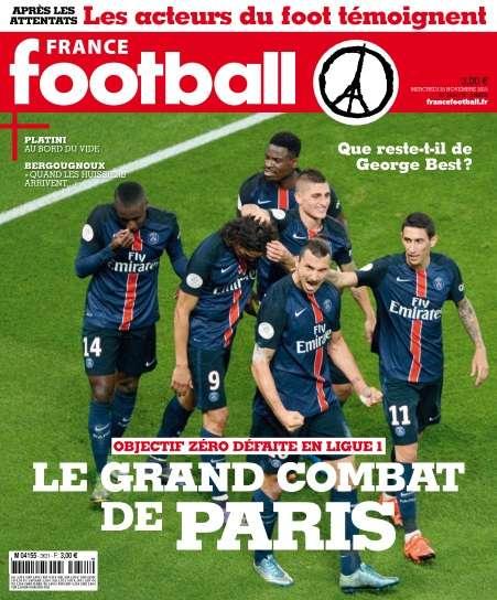 France Football - 25 Novembre 2015