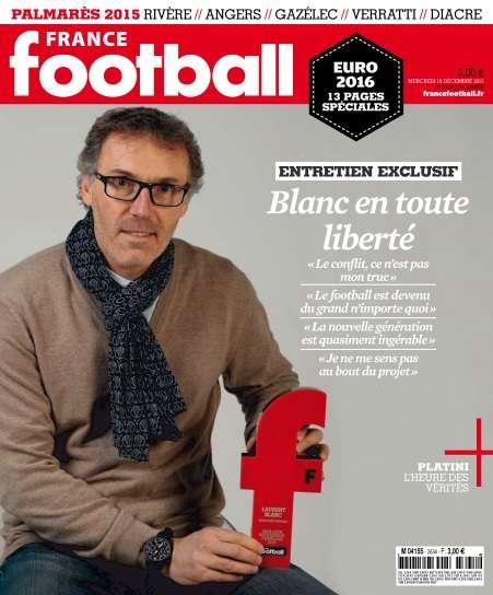France Football - 16 Décembre 2015