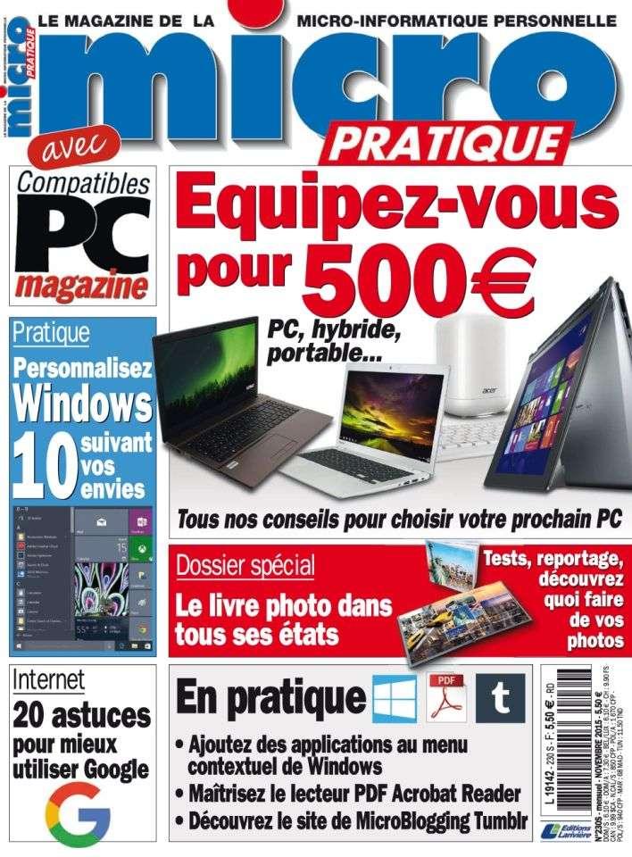 Micro Pratique 230 - Novembre 2015