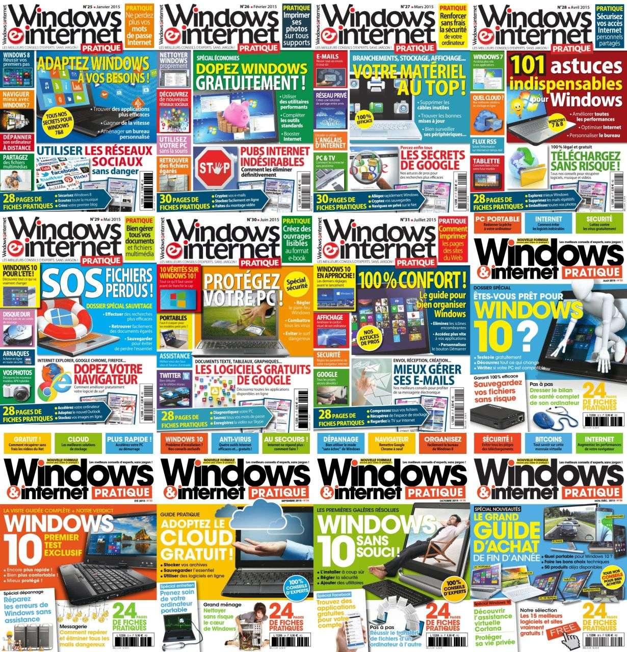 Windows & Internet Pratique - Collection Annuelle 2015