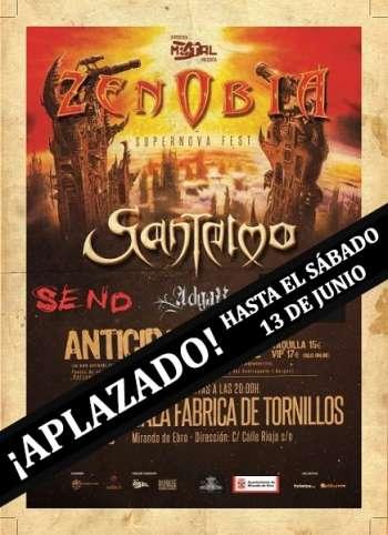 Zenobia en Burgos - aplazado
