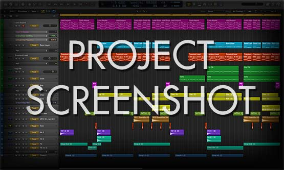 ProALogic Pro X Project File Screenshot Window Preview