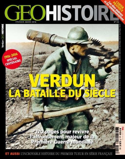 Geo Histoire 25 - Février-Mars 2016