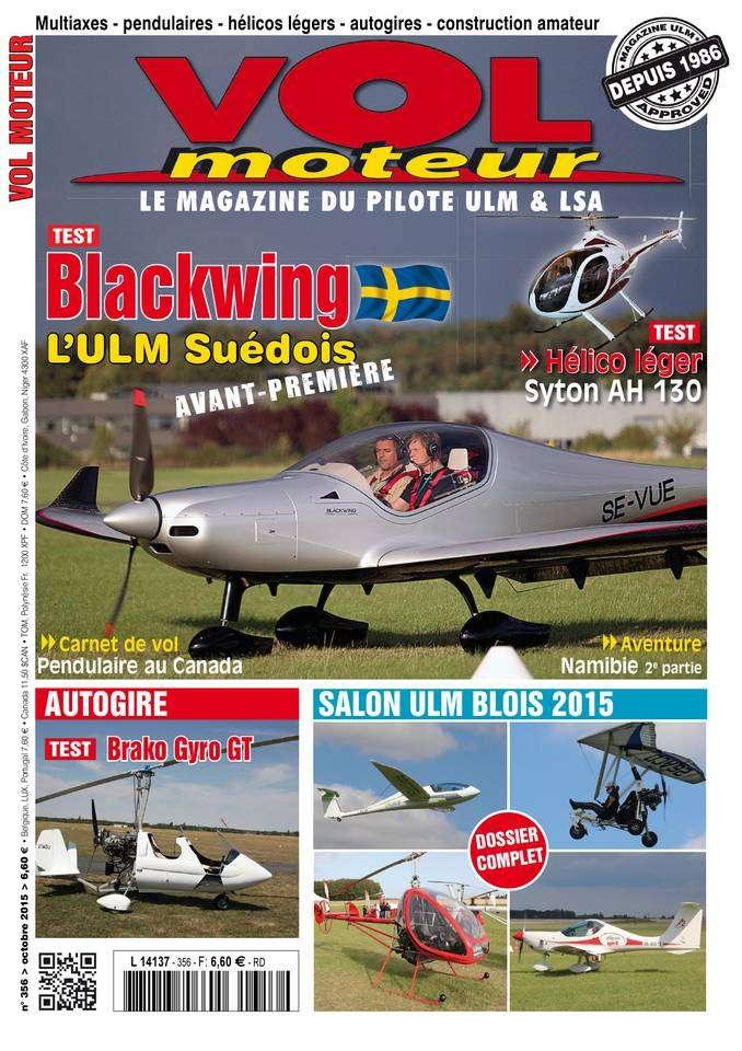 Vol Moteur - Octobre 2015