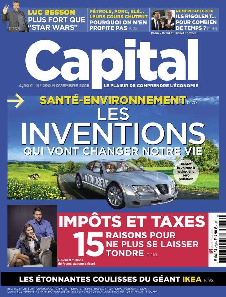 Capital 290 - Novembre 2015