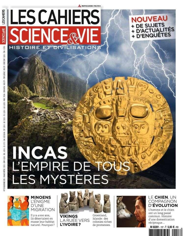 Les Cahiers de Science & Vie 157 - Novembre 2015