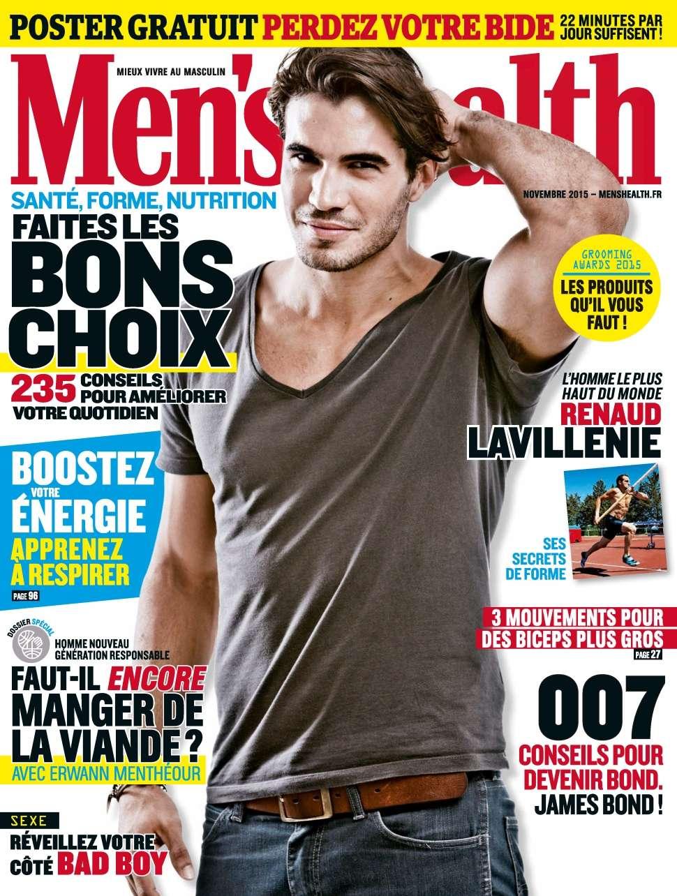 Men's Health 80 - Novembre 2015