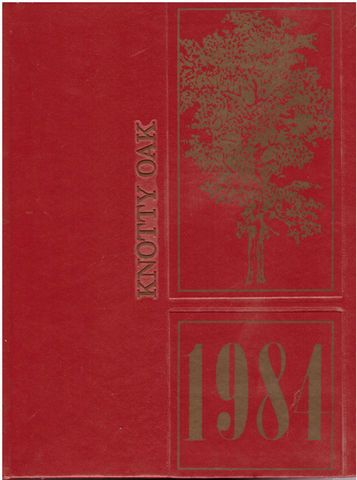 1984 Coventry Rhode Island RI High School Yearbook Knotty Oak, Senior Class