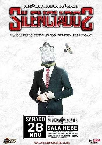 Silenciados Madrid cartel