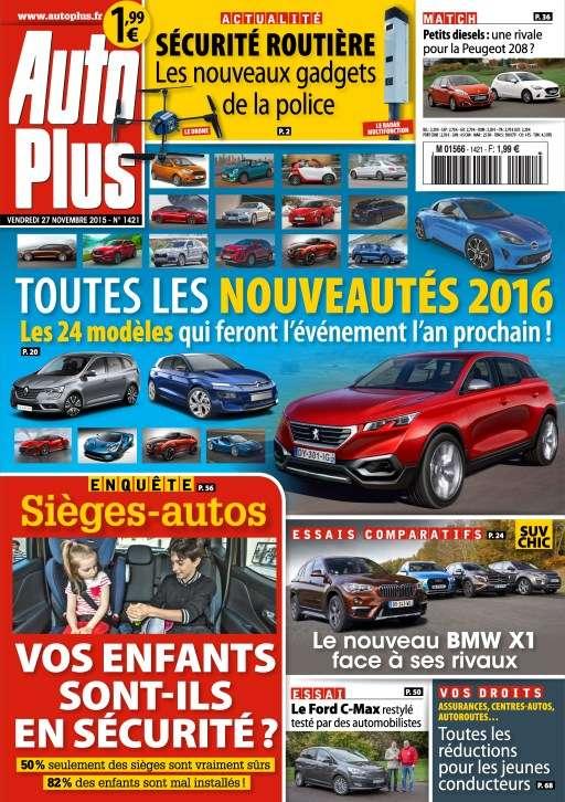Auto Plus 1421 - 27 Novembre au 3 Décembre 2015
