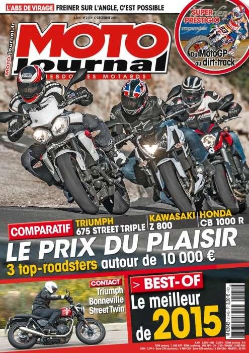 Moto Journal 2174 - 17 au 23 Décembre 2015