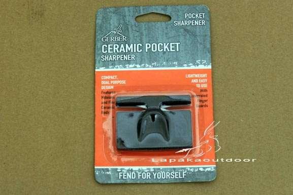 perlengkapan outdoor Gerber Ceramic Pocket Sharpener