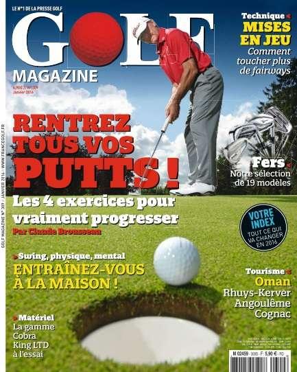 Golf Magazine - Janvier 2016