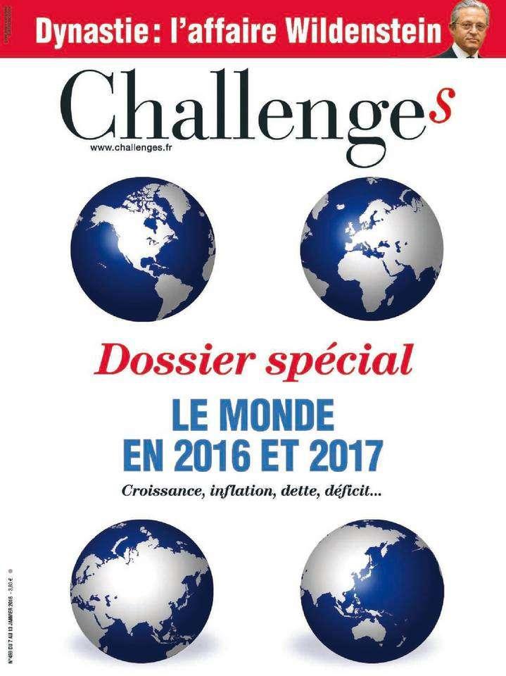 Challenges 459 - 7 au 13 Janvier 2016