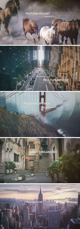 Modern Opener - Slideshow - 2