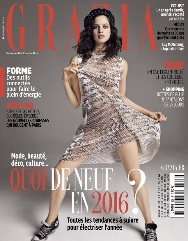 Grazia - 8 au 14 Janvier 2016