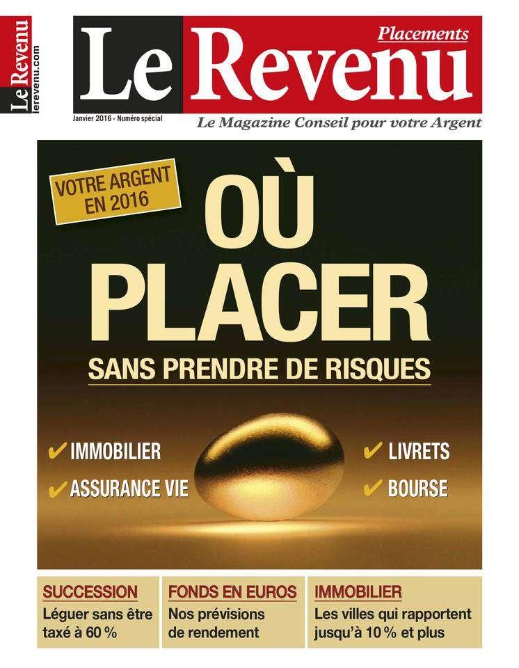 Le Revenu Placements - Janvier 2016