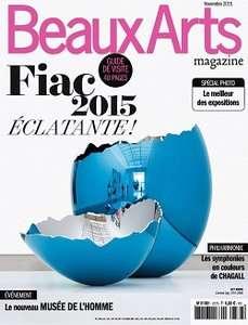 Beaux Arts 377 - Novembre 2015