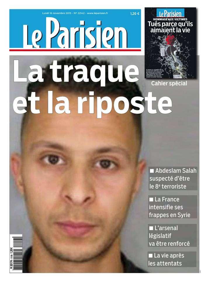 Le Parisien + Journal de Paris du Lundi 16 Novembre 2015