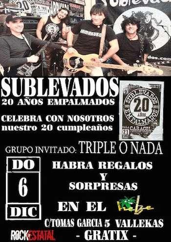 Sublevados Madrid