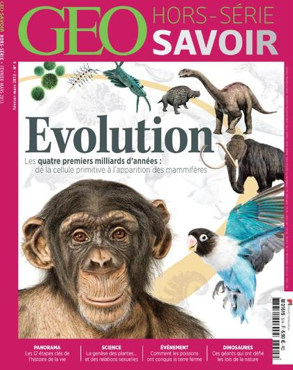 Géo Savoir Hors Série 5 - Evolution