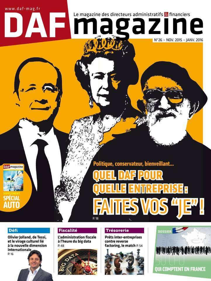 DAF Magazine - Novembre2015/Janvier 2016