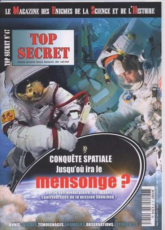 Top Secret 47 - Conquête spatiale jusqu'où ira le mensonge ?