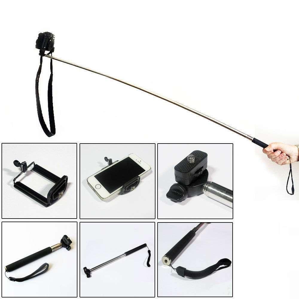 bastone telescopico selfie palmare monopiede telecomando funziona con il nokia lumia 630 ebay. Black Bedroom Furniture Sets. Home Design Ideas