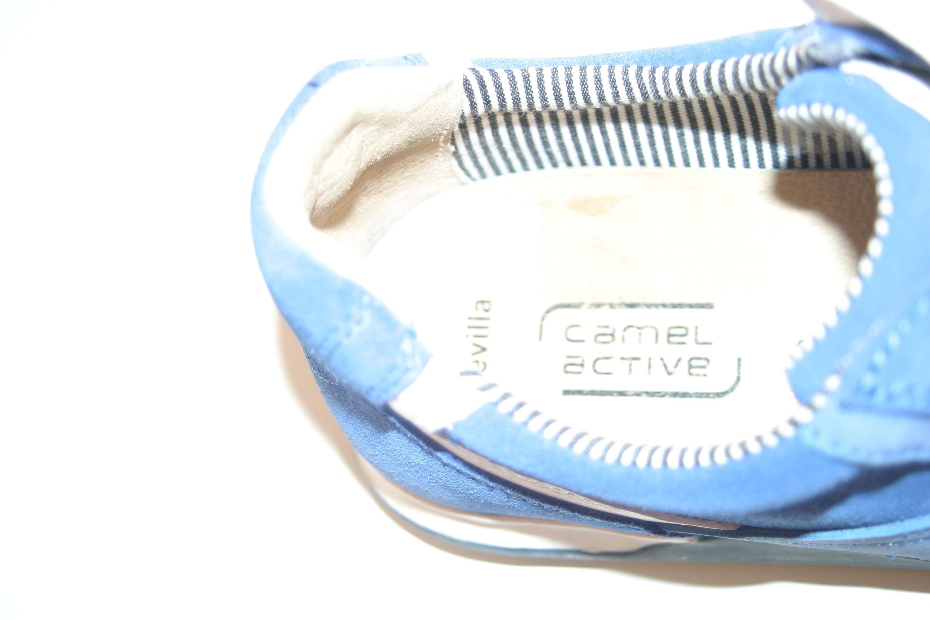 camel active bequeme halbschuhe damenschuhe blau royalblau gr e 8 41 1 2 ebay. Black Bedroom Furniture Sets. Home Design Ideas