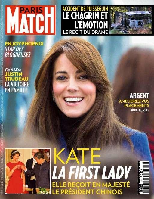 Paris Match 3467 - 29 Octobre au 4 Novembre 2015