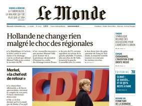 Le Monde + 2 suppléments du Mercredi 16 décembre 2015