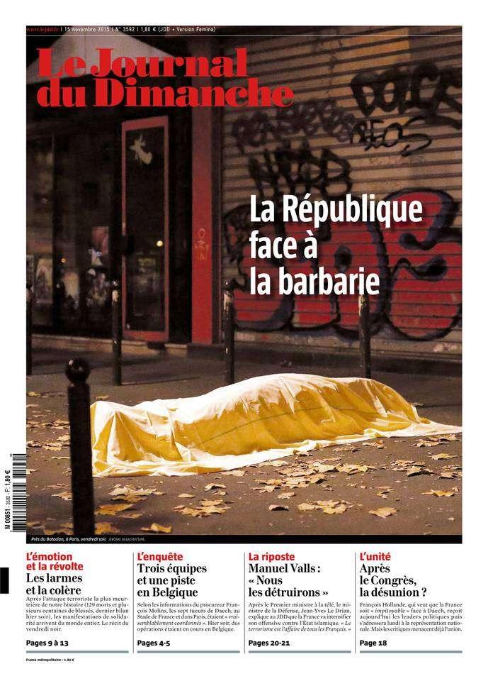 Le Journal du Dimanche - 15 Novembre 2015