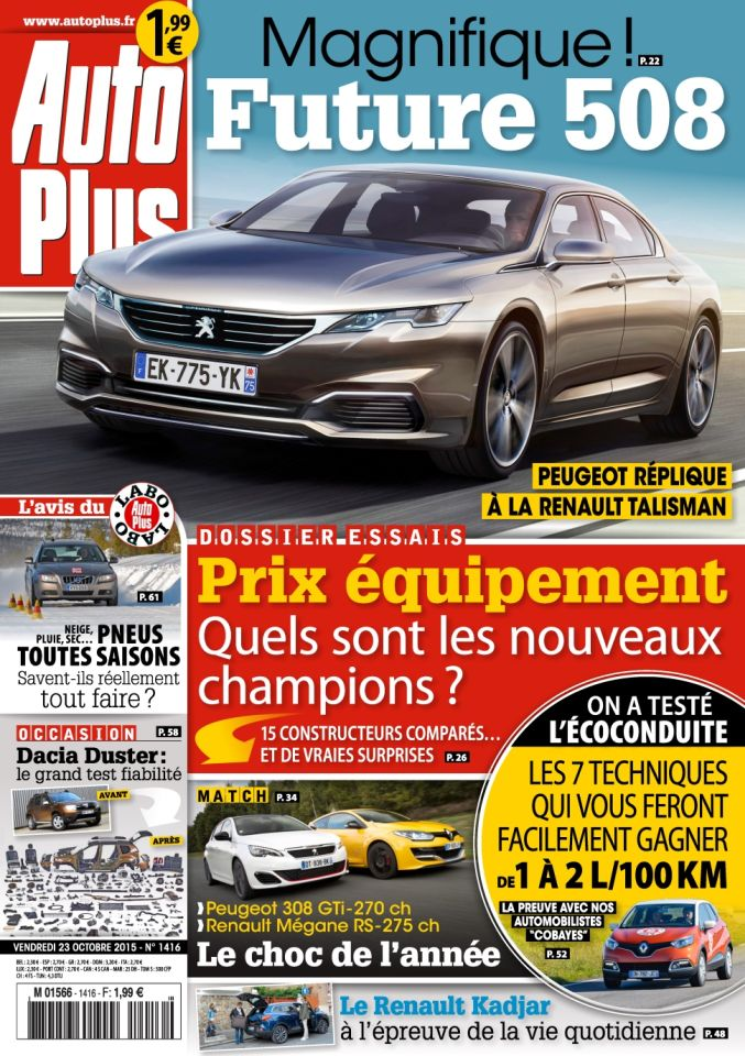 Auto Plus 1416 - 23 au 29 Octobre 2015