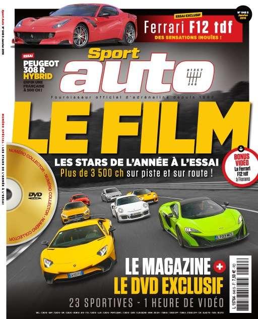 Sport Auto 648 - Janvier 2016