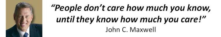 Jon Maxwell Quote