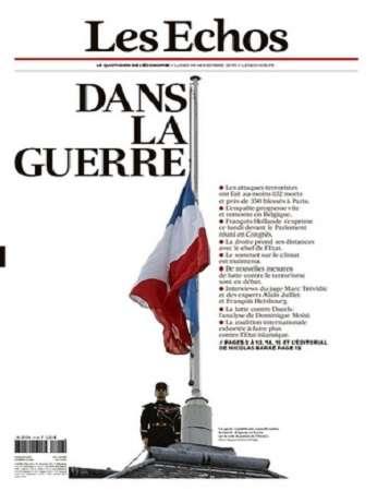 Les Echos Du Lundi 16 Novembre 2015