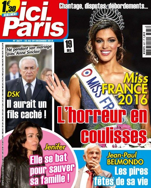 Ici Paris 3677 - 23 Au 29 Décembre 2015