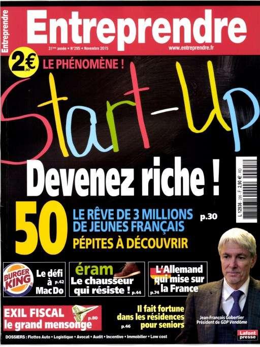 Entreprendre 295 - Novembre 2015