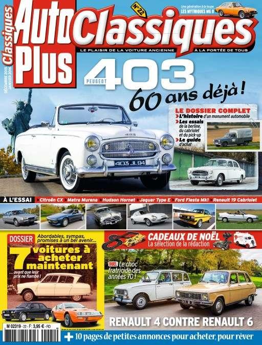 Auto Plus Classiques 22 - Décembre 2015 - Janvier 2016
