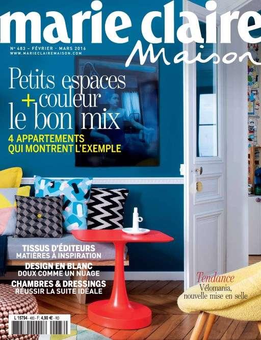 Marie Claire Maison 483 - Fevrier/Mars 2016