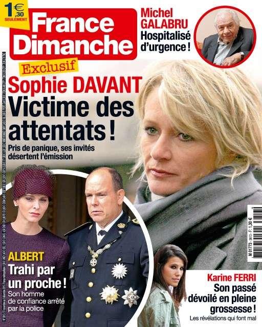 France Dimanche 3613 - 27 au 3 Décembre 2015