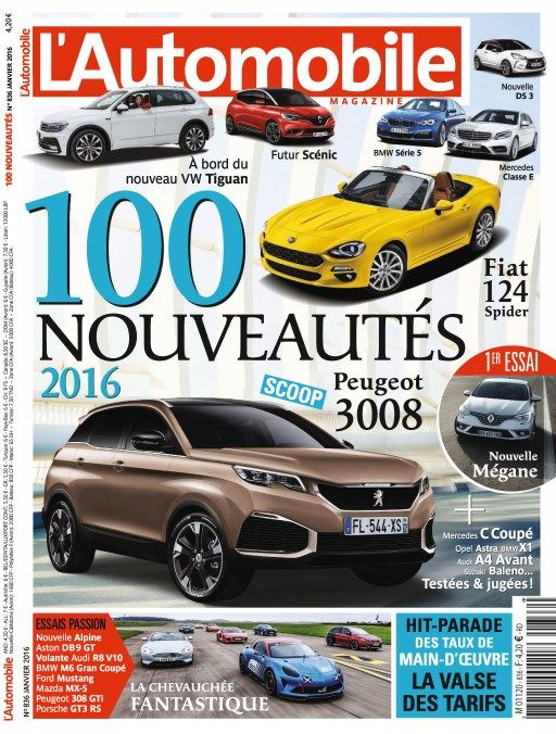 L'Automobile magazine 836 - Janvier 2016