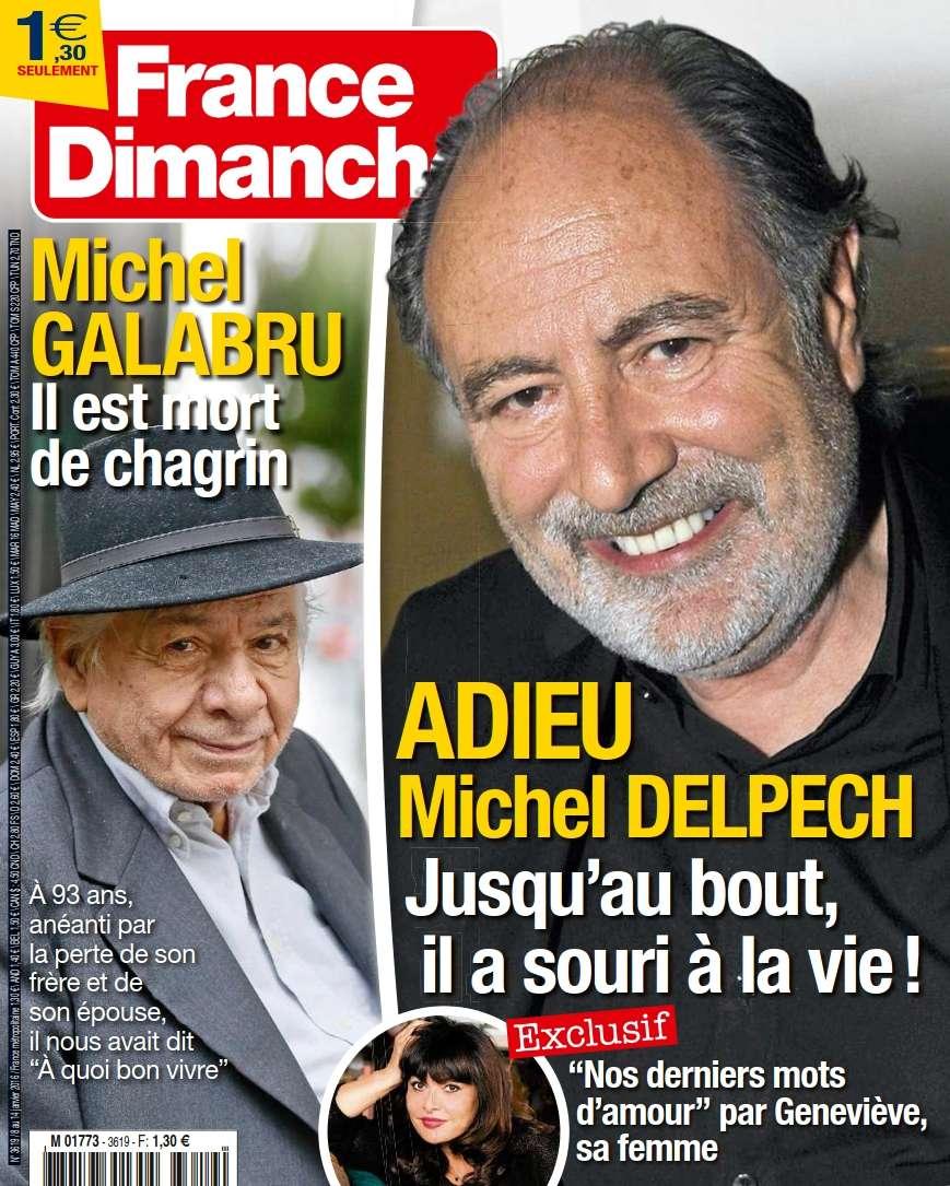 France Dimanche 3619 - 8 au 14 Janvier 2016