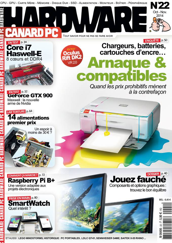 Canard PC Hardware 22 - Octobre-Novembre 2014