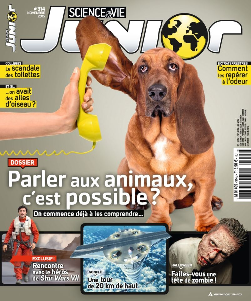 Science & Vie Junior 314 - Novembre 2015