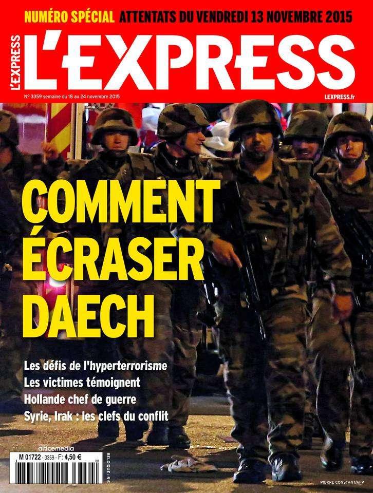 L'Express 3359 - 18 au 24 Novembre 2015