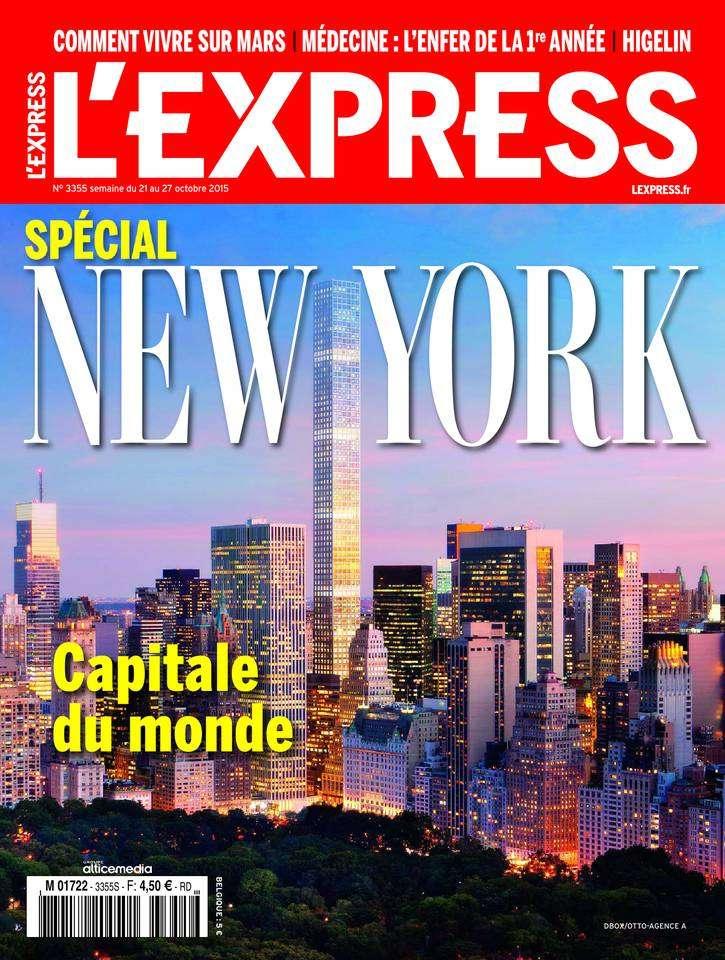 L'Express 3355 - 21 au 27 Octobre 2015