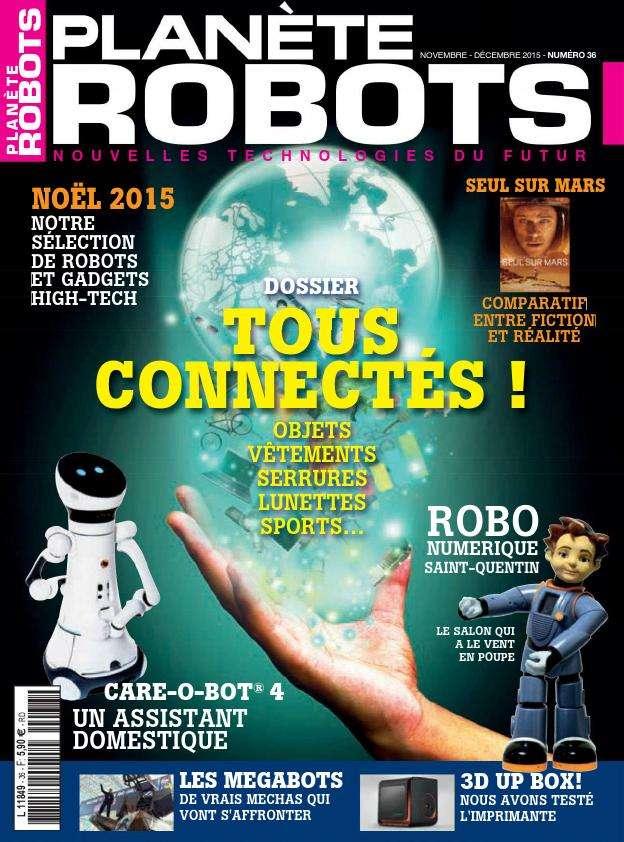 Planète Robots - Novembre-Dècembre 2015